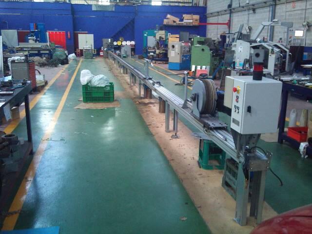 Máquina de Fabricación de cuerda de cultivo de mejillón con empalillado automático
