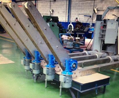fabricación para piscifactoria Pescantes Stolt Sea Farm