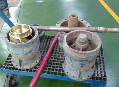 Reparación bomba de agua stolt sea farm